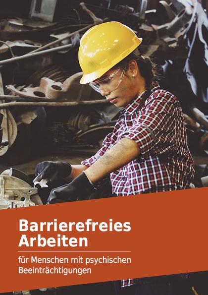 Broschüre Barrierefreiheit seelische Hindernisse Download